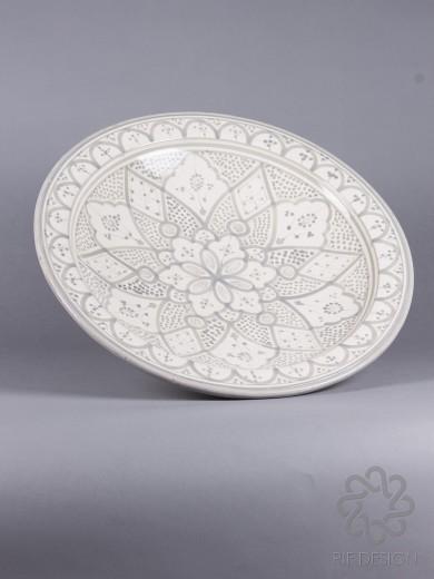 Keramikfat grått