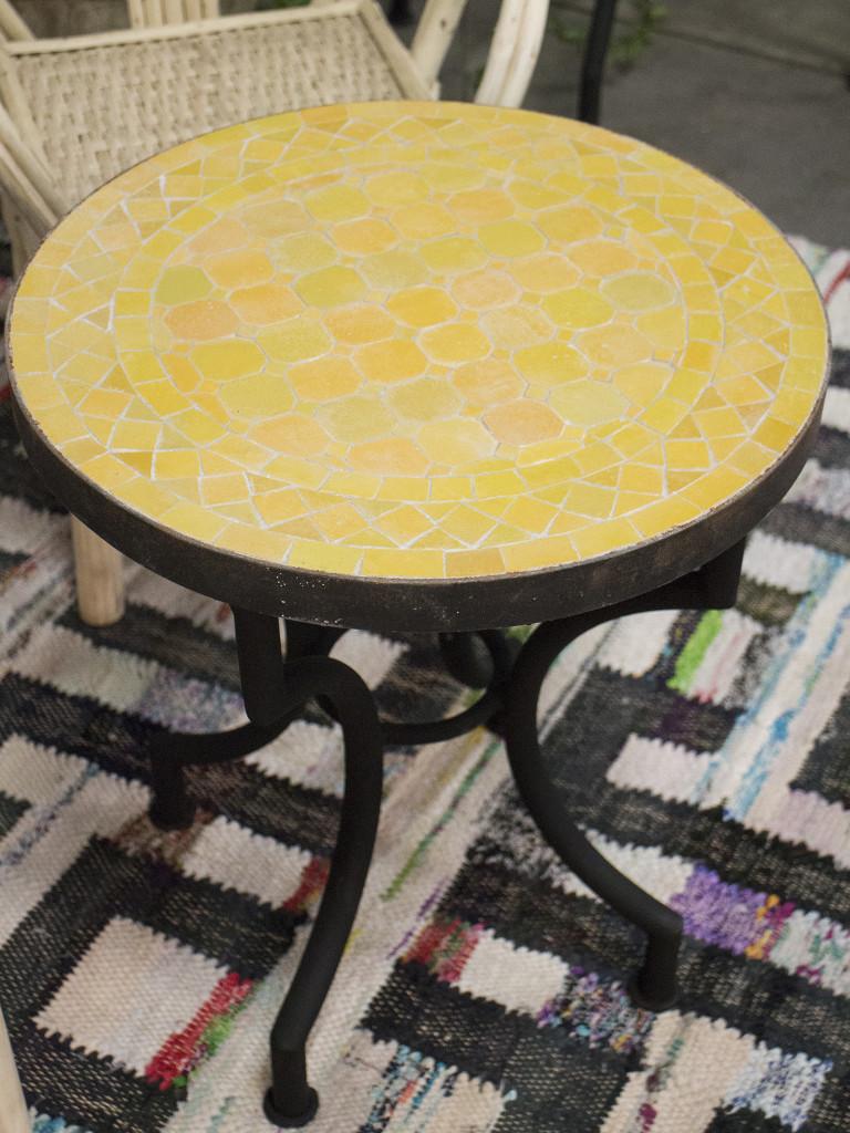 mosaikbord gul 1400kr rif design