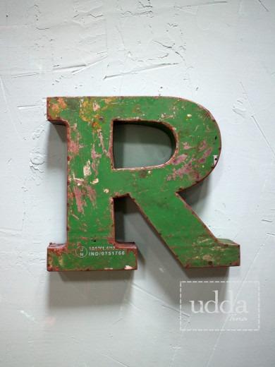 Plåtbokstav - R