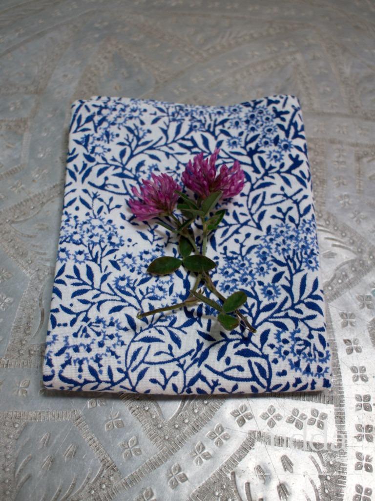 Bungalow kökshandduk - Morris Blue 50x70 cm