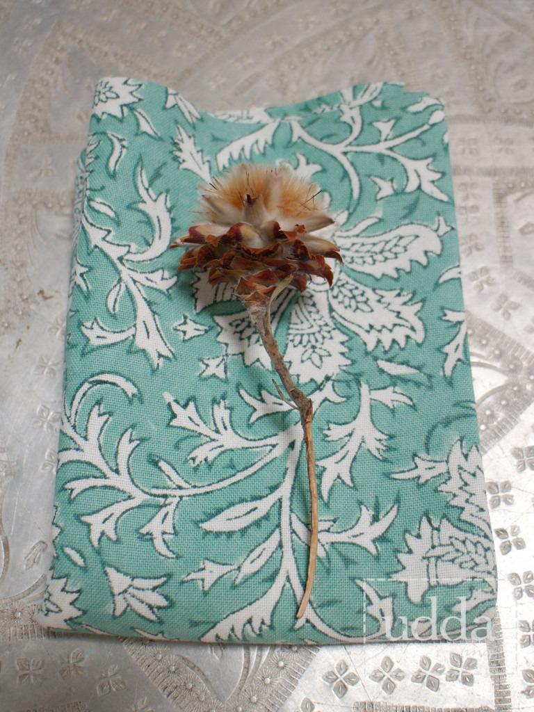 Bungalow kökshandduk - Vildblomma Mint 50x70 cm