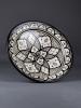 Keramikfat Rif Design – Svart/Vitt 40cm