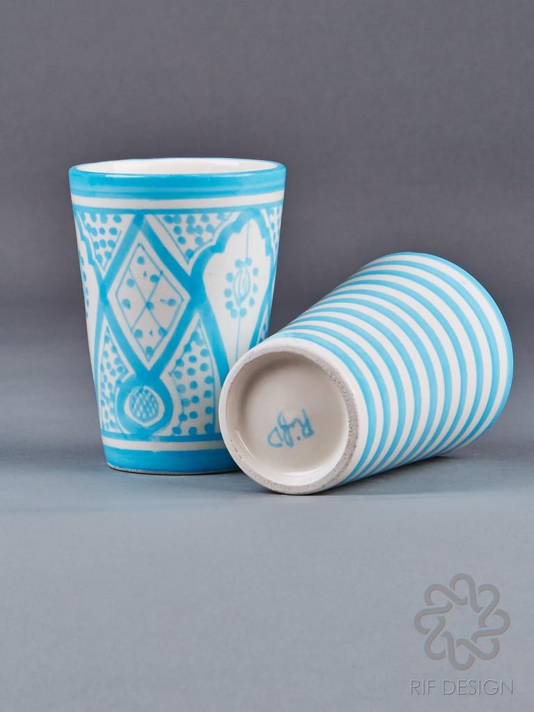 marockansk keramik, mugg