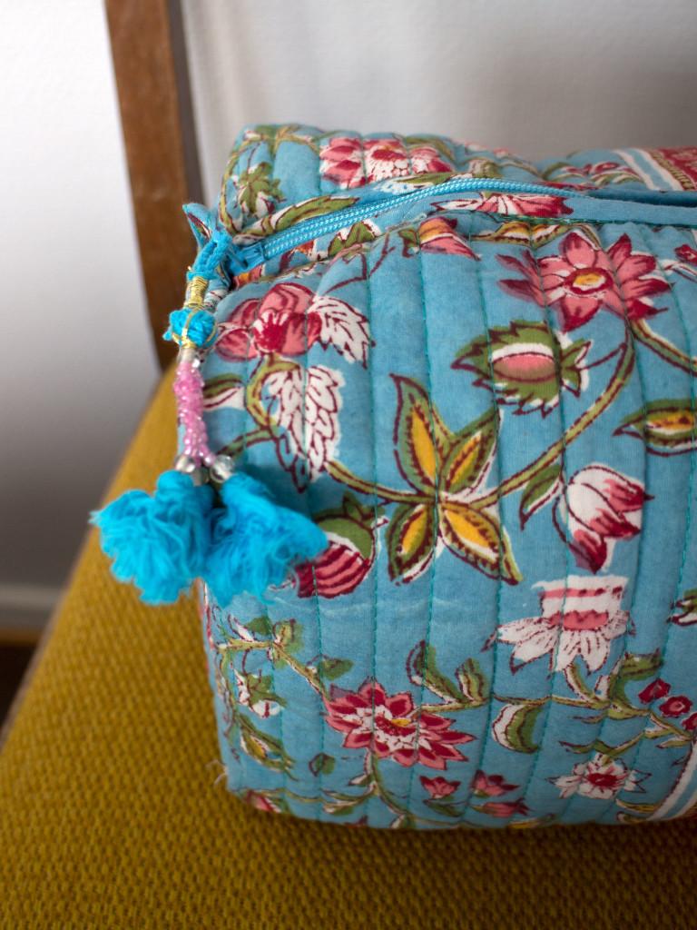 Necessär Anokhi - Flower Turquoise L