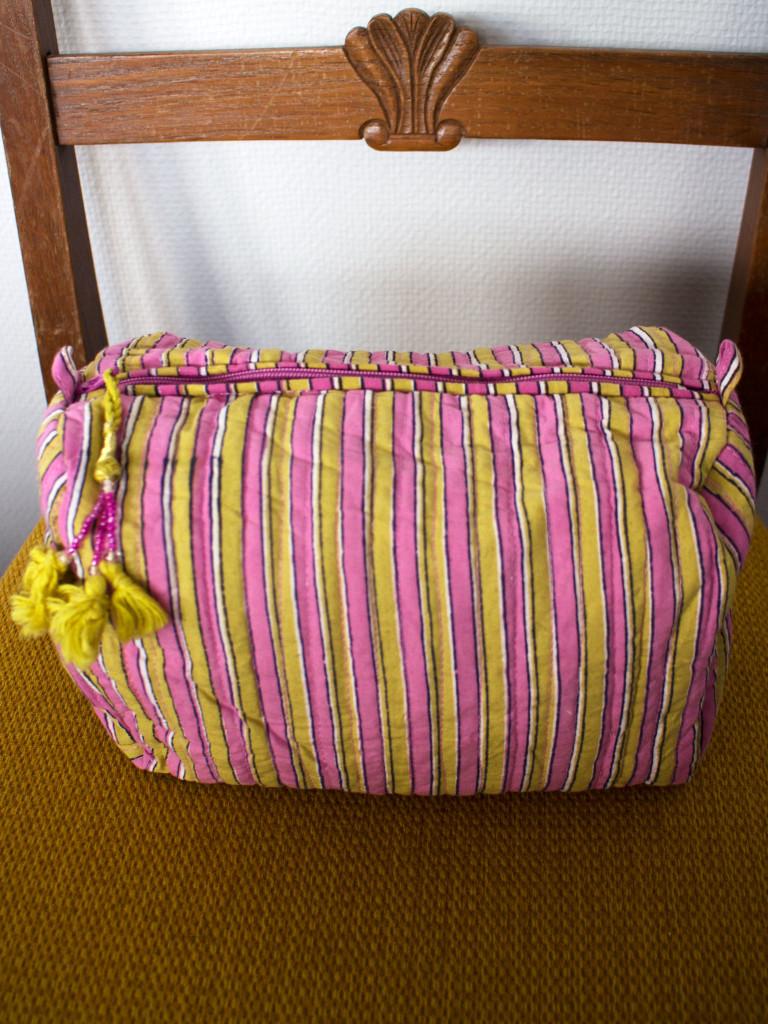 Necessär Anokhi - Stripe Lilac M