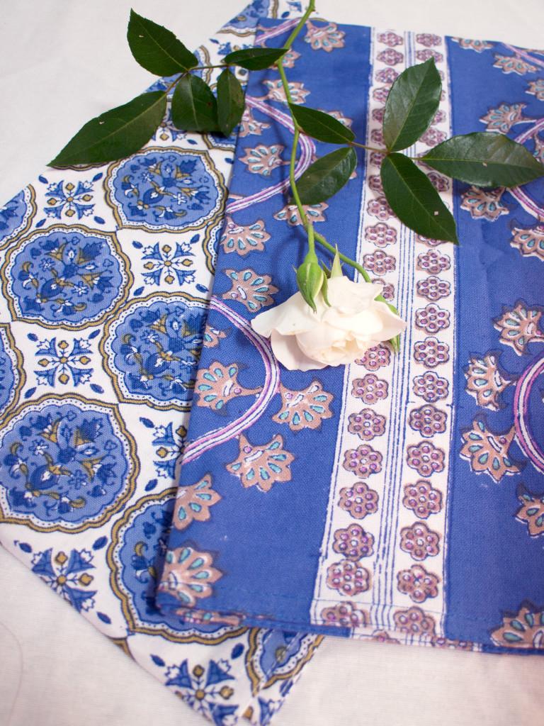 Bungalow kökshandduk - Kamal Blue 50x70 cm