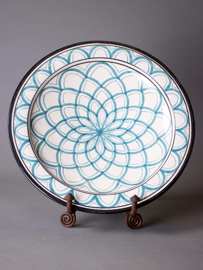 Keramikfat Rif Design – Ocean Magrib 35cm