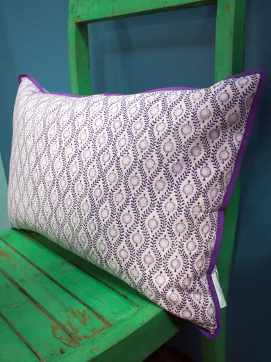 Bungalow kuddfodral - Lulu Purple