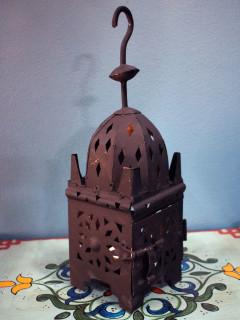Marockansk Lykta - Maroc Mini Svart 30cm