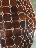 Mosaikbord - Choklad