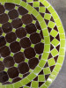 Mosaikbord - Choklad/Lime