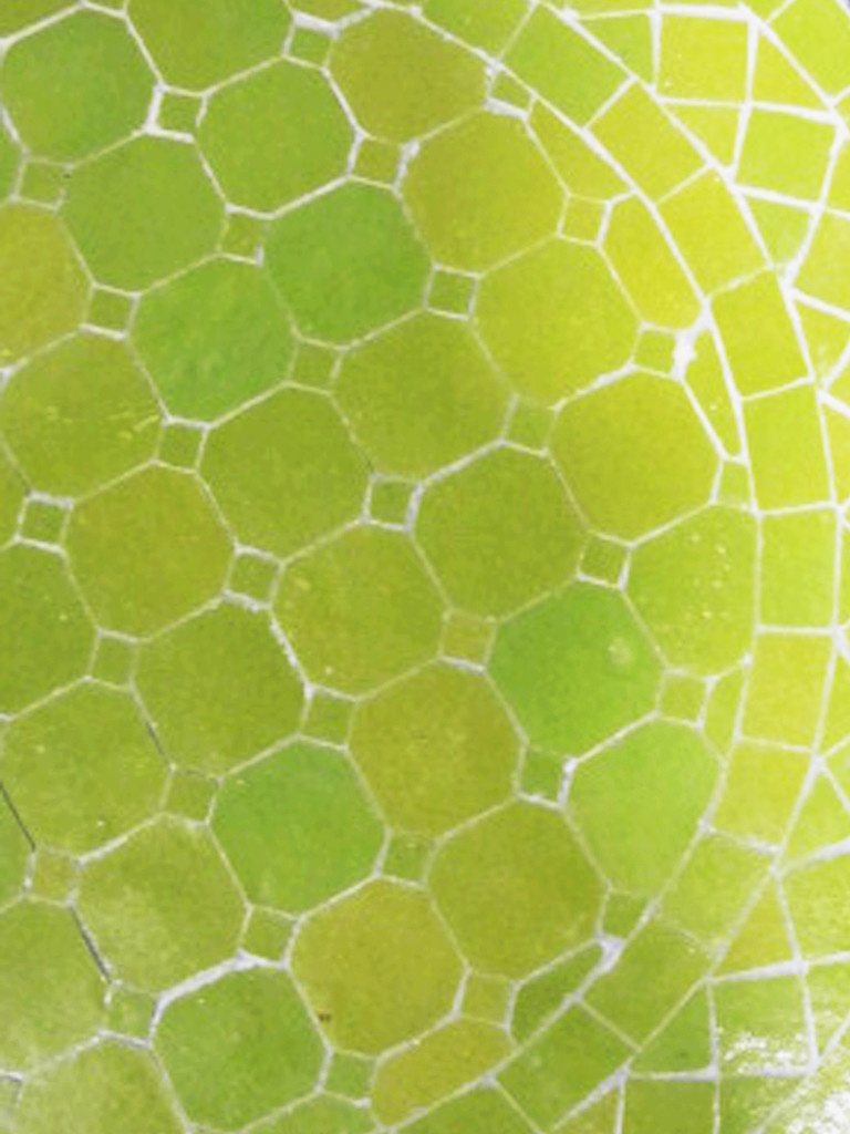 Mosaikbord - Lime