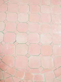 Mosaikbord - Rosa