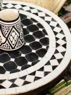 mosaik-svartvit