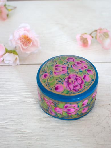 Handmålad Ask - Mini Lilac