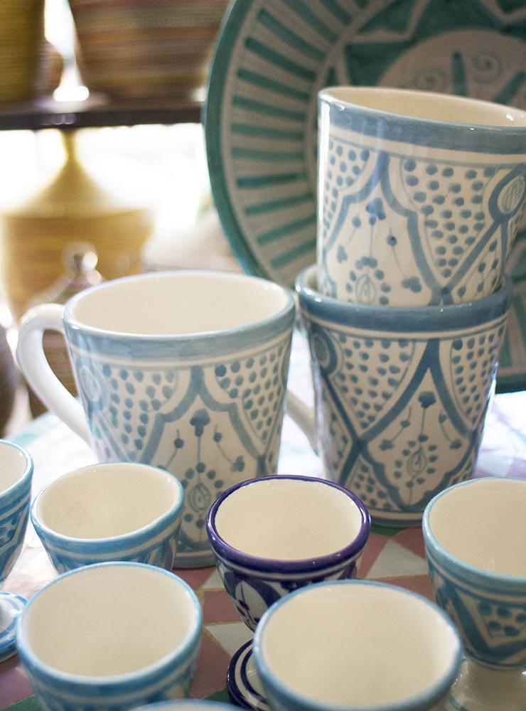 Marockansk keramik
