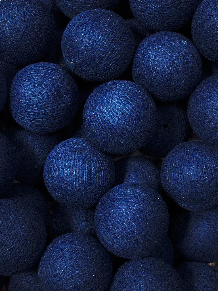 Blå inredningsdetaljer