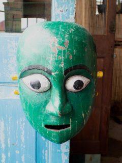Mask grön 1