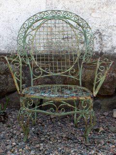 grön stol